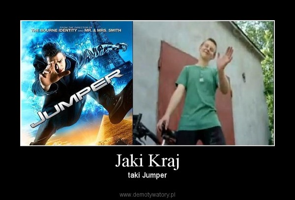 Jaki Kraj – taki Jumper