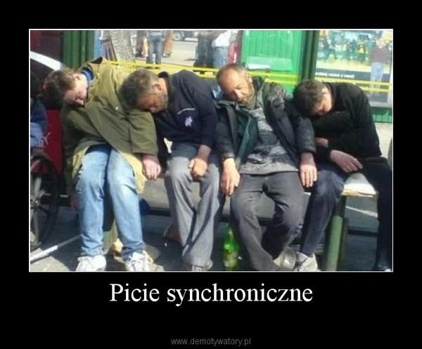 Picie synchroniczne –