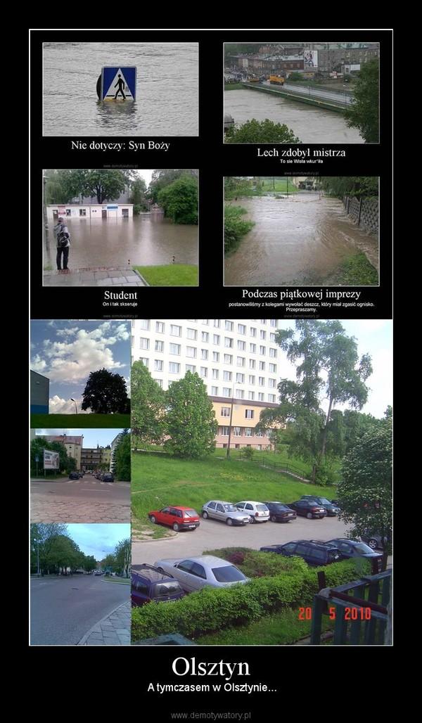Olsztyn –  A tymczasem w Olsztynie...