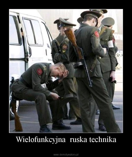 Wielofunkcyjna  ruska technika