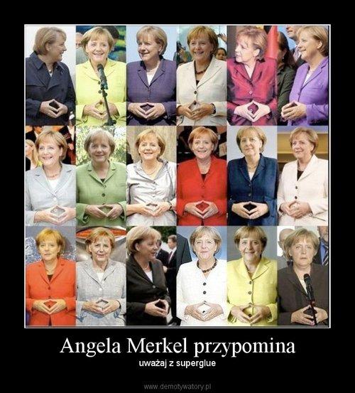 Angela Merkel przypomina