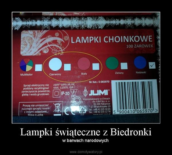 Lampki świąteczne Z Biedronki Demotywatorypl