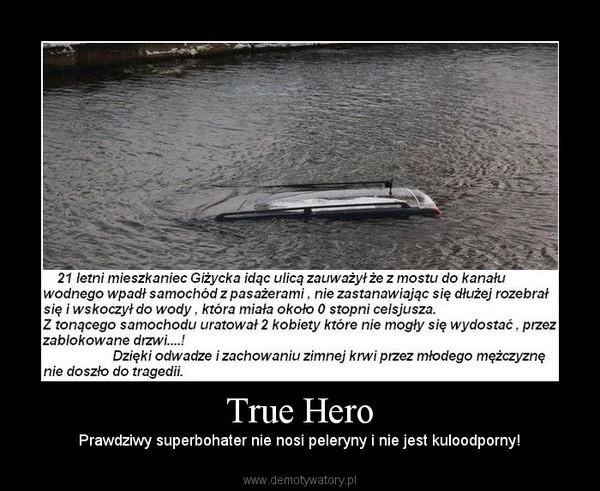 True Hero – Prawdziwy superbohater nie nosi peleryny i nie jest kuloodporny!