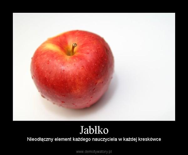 Jabłko – Nieodłączny element każdego nauczyciela w każdej kreskówce
