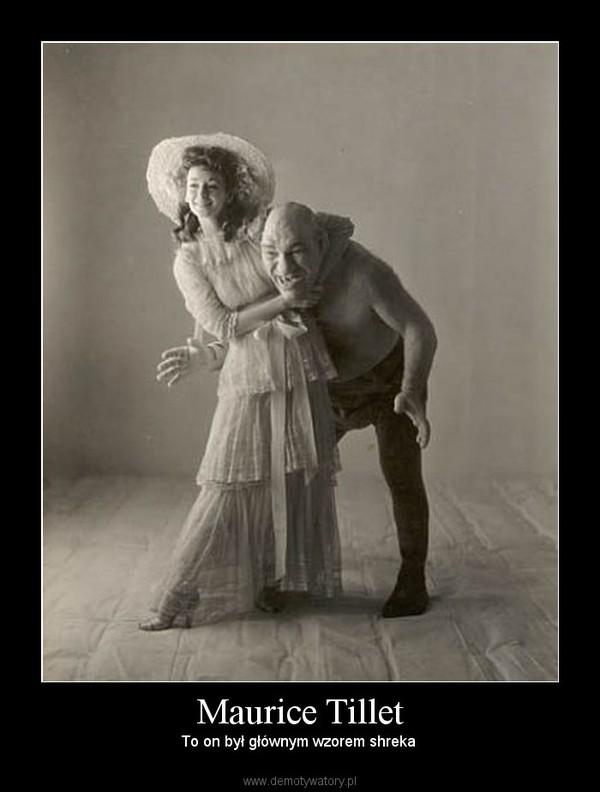 Maurice Tillet – To on był głównym wzorem shreka