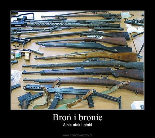 Broń i bronie
