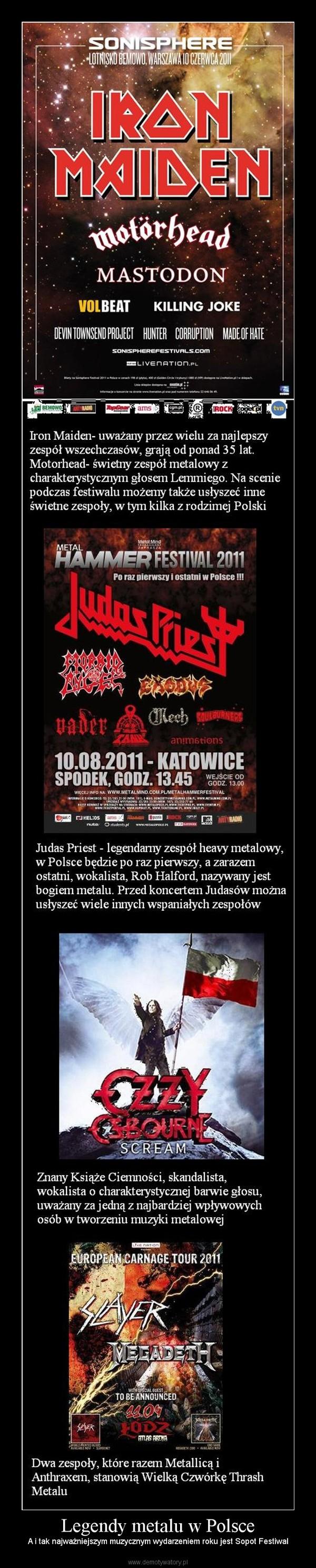 Legendy metalu w Polsce – A i tak najważniejszym muzycznym wydarzeniem roku jest Sopot Festiwal
