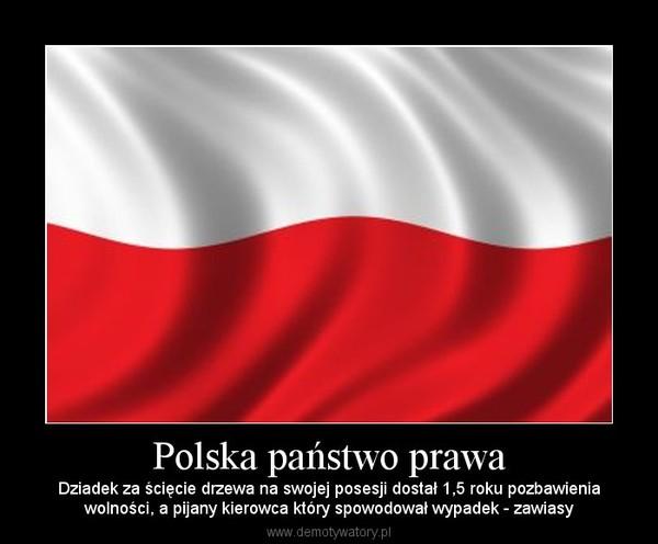 eeda9a829d02c0 Polska państwo prawa – Dziadek za ścięcie drzewa na swojej posesji dostał  1,5 roku