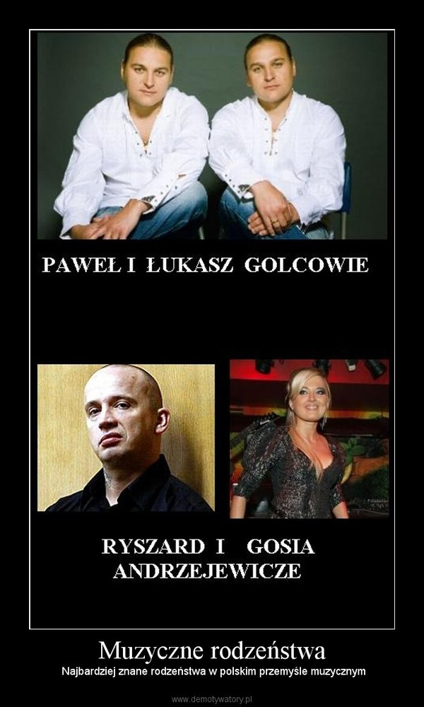 Muzyczne rodzeństwa – Najbardziej znane rodzeństwa w polskim przemyśle muzycznym