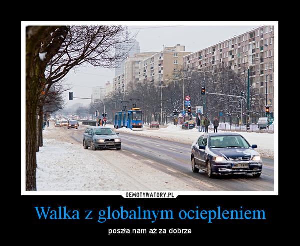 Walka z globalnym ociepleniem – poszła nam aż za dobrze