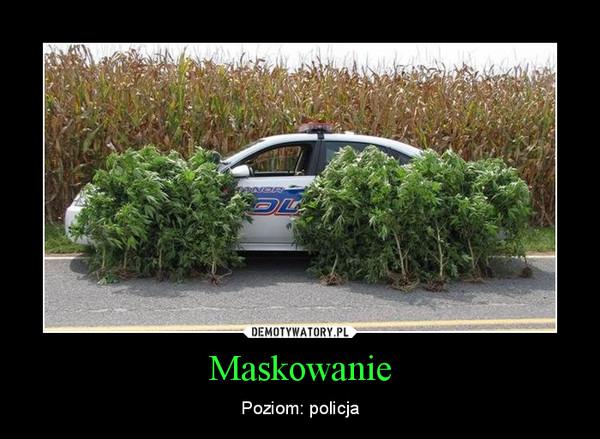Maskowanie – Poziom: policja