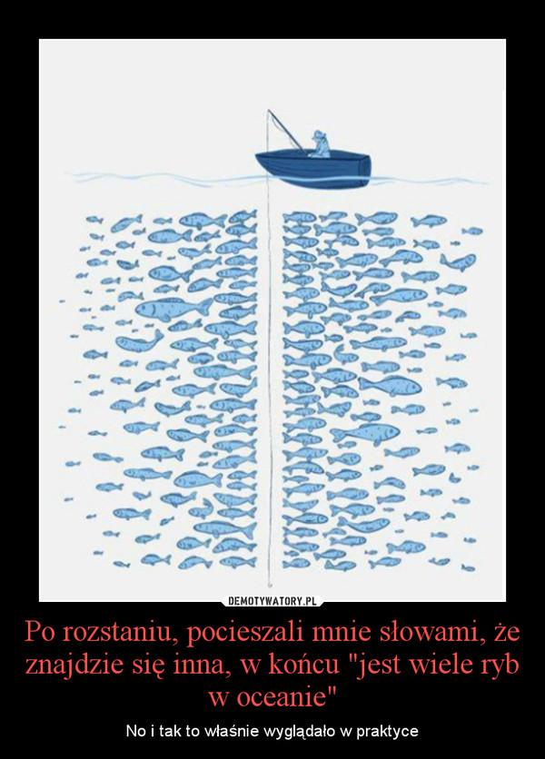 """Po rozstaniu, pocieszali mnie słowami, że znajdzie się inna, w końcu """"jest wiele ryb w oceanie"""" – No i tak to właśnie wyglądało w praktyce"""