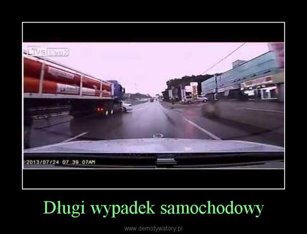 Długi wypadek samochodowy –