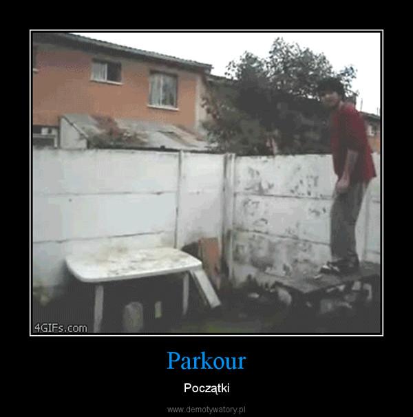 Parkour – Początki