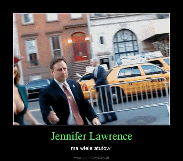 Jennifer Lawrence – ma wiele atutów!