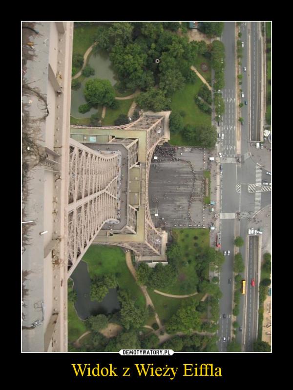 Widok z Wieży Eiffla –