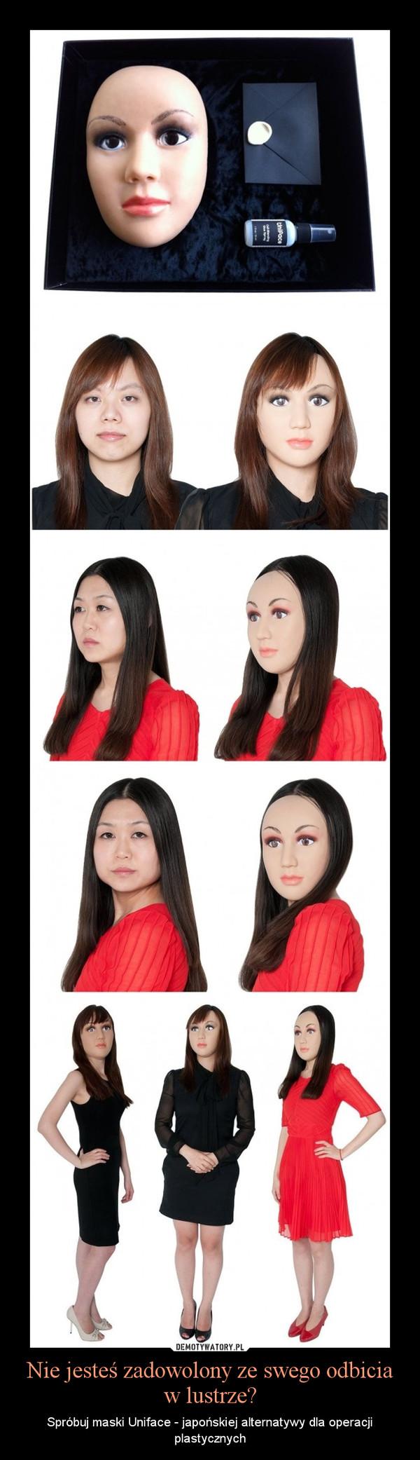 Nie jesteś zadowolony ze swego odbicia w lustrze? – Spróbuj maski Uniface - japońskiej alternatywy dla operacji plastycznych
