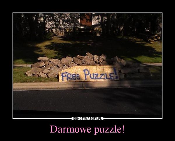Darmowe puzzle! –