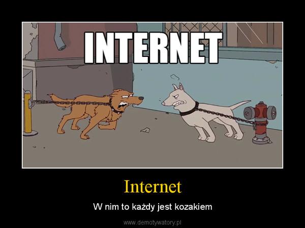 Internet – W nim to każdy jest kozakiem