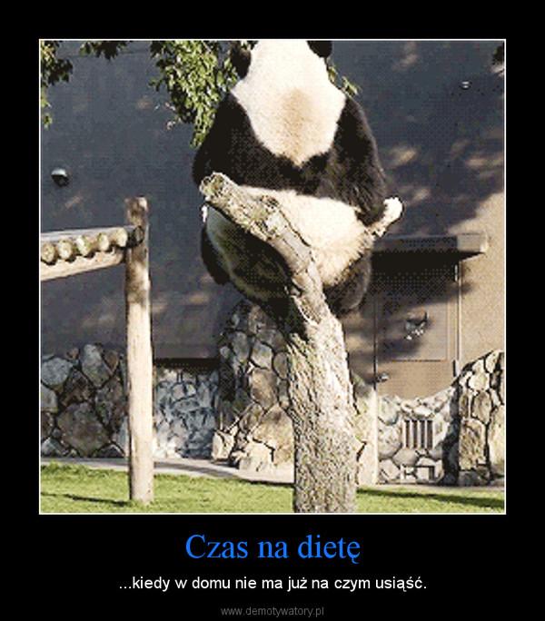 Czas na dietę – ...kiedy w domu nie ma już na czym usiąść.