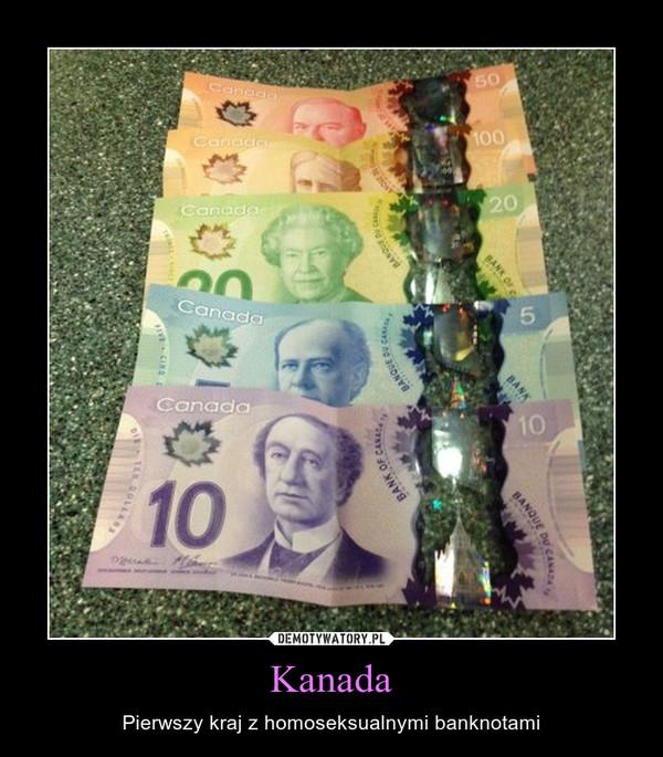 Kanada – Pierwszy kraj z homoseksualnymi banknotami