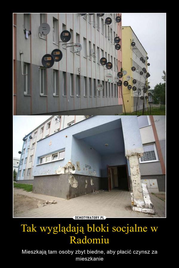 Tak wyglądają bloki socjalne w Radomiu – Mieszkają tam osoby zbyt biedne, aby płacić czynsz za mieszkanie