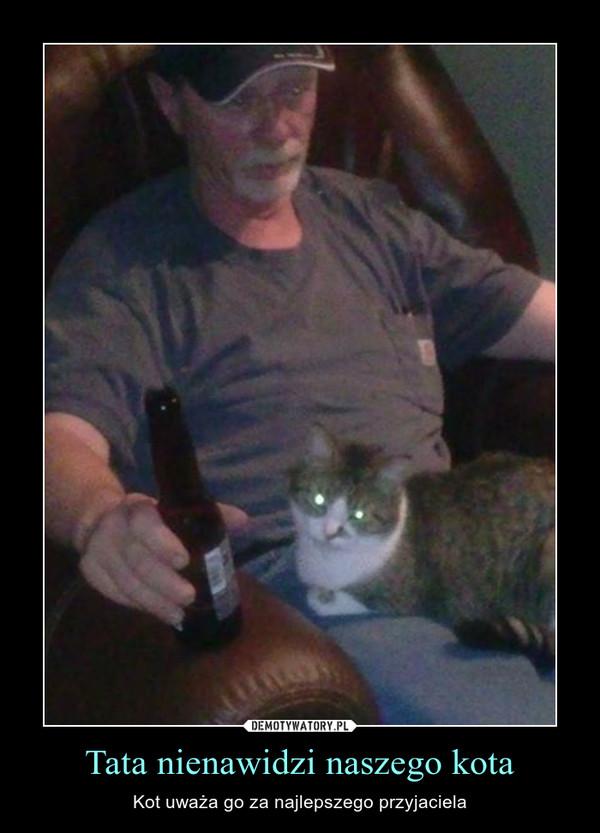 Tata nienawidzi naszego kota – Kot uważa go za najlepszego przyjaciela