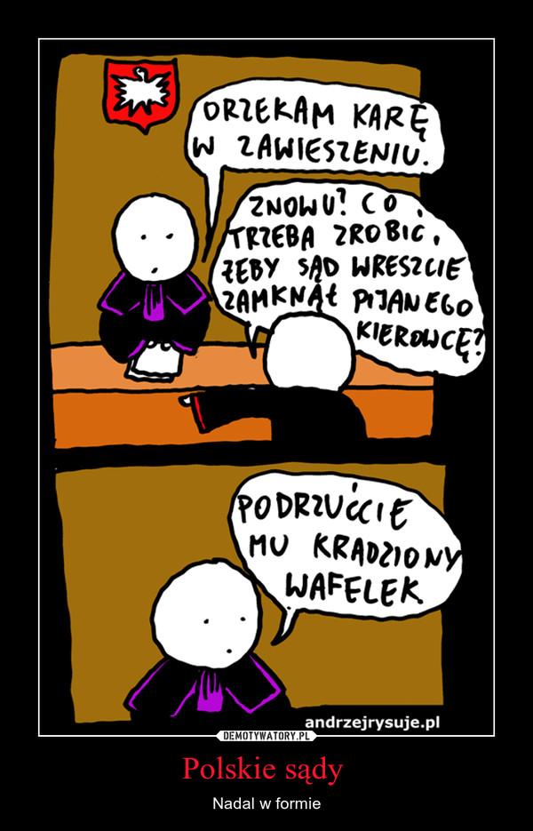 Polskie sądy  – Nadal w formie