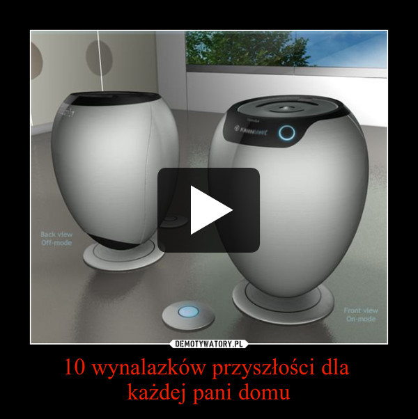 10 wynalazków przyszłości dla każdej pani domu –