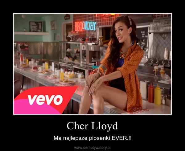 Cher Lloyd – Ma najlepsze piosenki EVER.!!