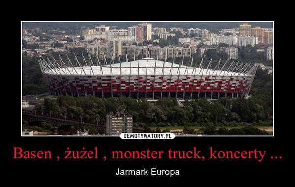 Basen , żużel , monster truck, koncerty ... – Jarmark Europa