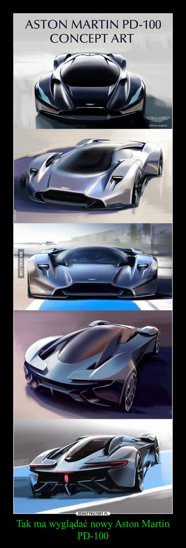 Tak ma wyglądać nowy Aston Martin PD-100 –