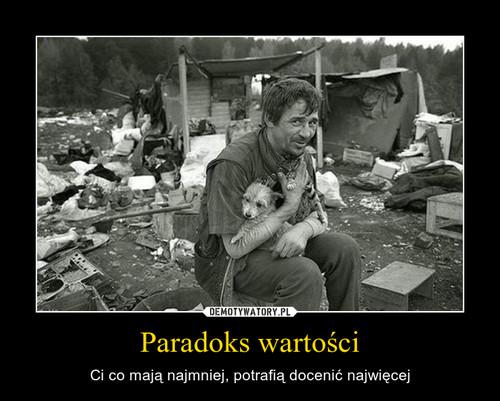 Paradoks wartości