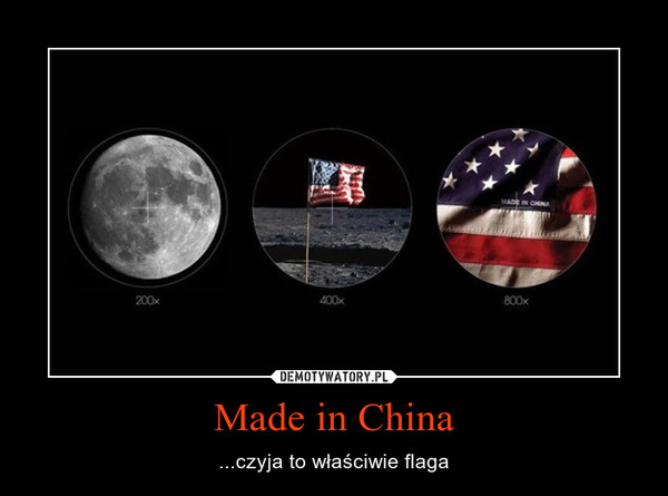 Made in China – ...czyja to właściwie flaga