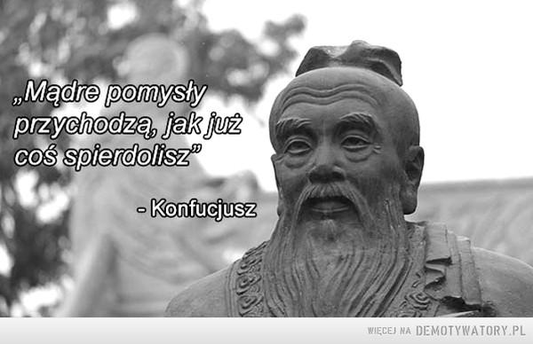 O mądrości... –