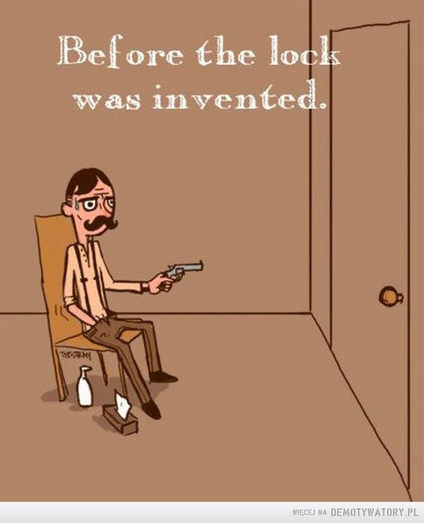Zanim wynaleziono zamki –