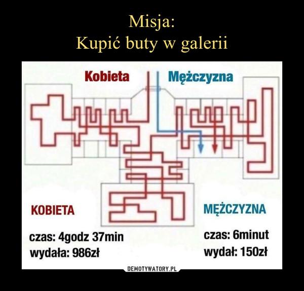 1207e70248304 Misja: Kupić buty w galerii – Demotywatory.pl