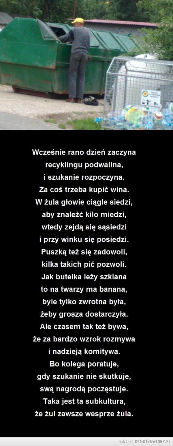 Żule – Podwalina polskiego recyklingu