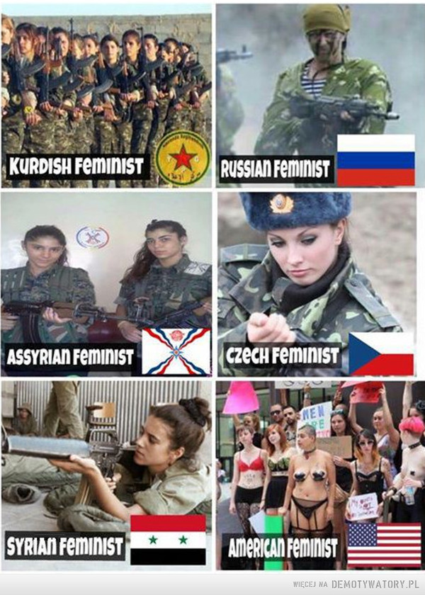 Feministki... –
