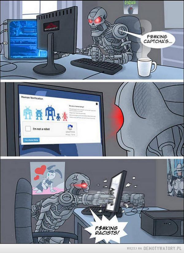 Roboty nie mają lekko –