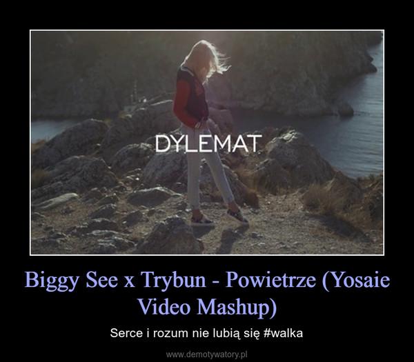 Biggy See x Trybun - Powietrze (Yosaie Video Mashup) – Serce i rozum nie lubią się #walka