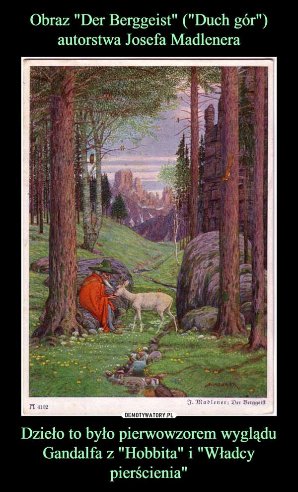 """Dzieło to było pierwowzorem wyglądu Gandalfa z """"Hobbita"""" i """"Władcy pierścienia"""" –"""