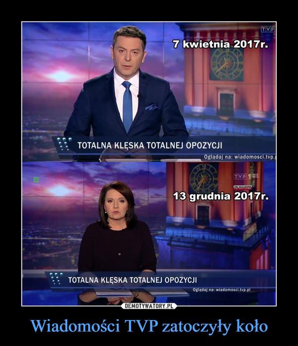 Wiadomości TVP zatoczyły koło –