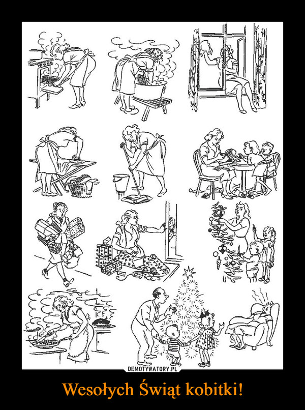 Wesołych Świąt kobitki! –