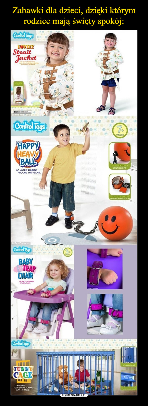 –  Happy heavy ball Baby trap chair