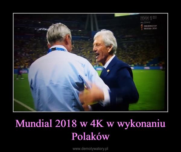 Mundial 2018 w 4K w wykonaniu Polaków –