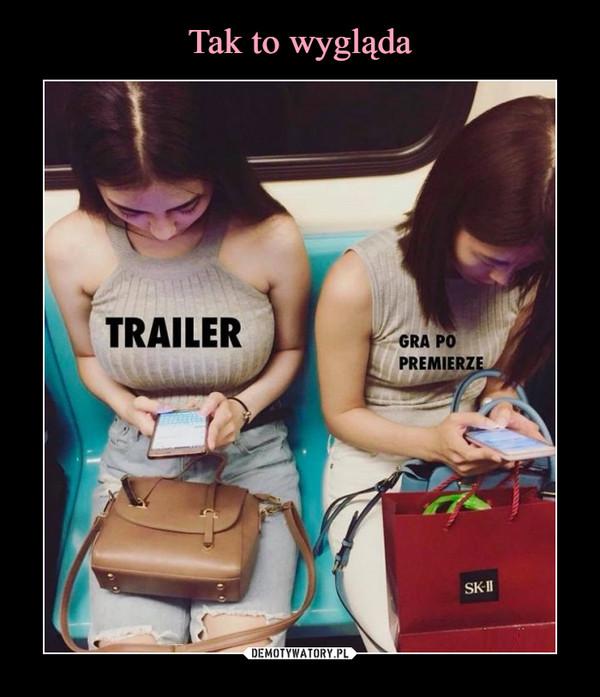 –  trailer gra