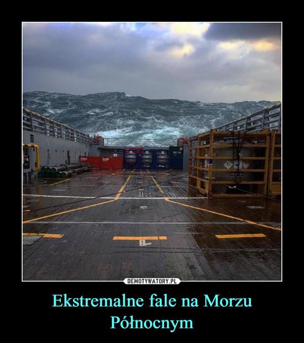 Ekstremalne fale na Morzu Północnym –