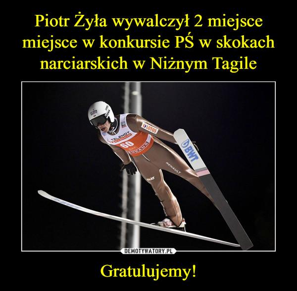 Gratulujemy! –