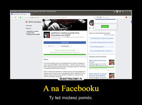 A na Facebooku
